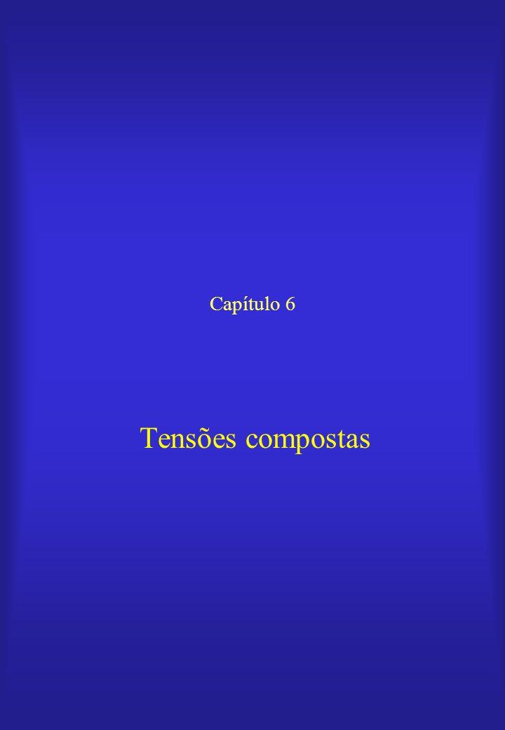 Capítulo 6 Tensões compostas