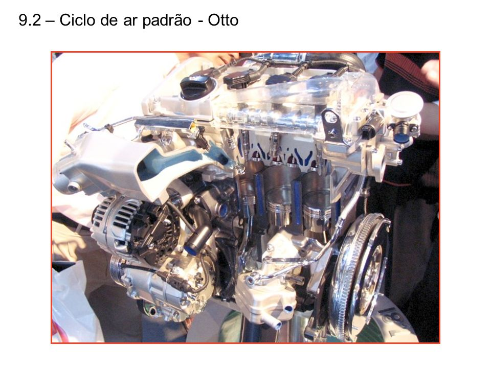 9.2 – Ciclo de ar padrão - Otto