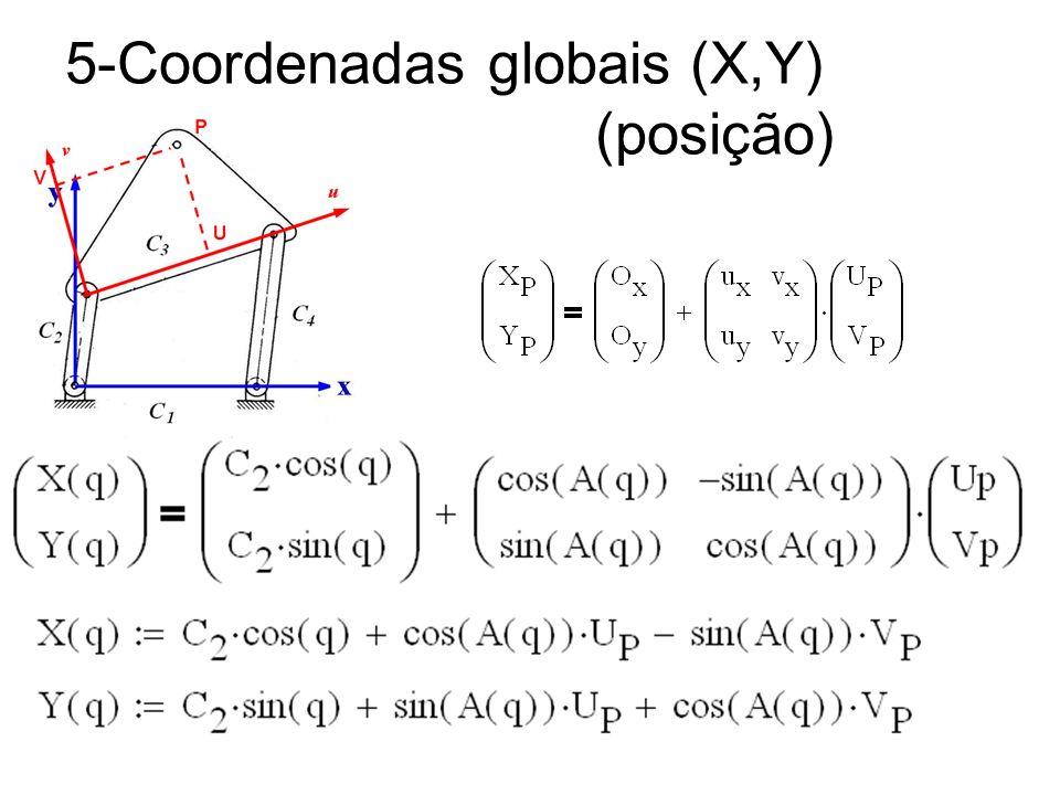 5-Coordenadas globais (X,Y) (posição)