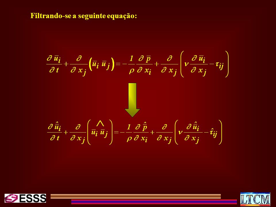 Filtrando-se a seguinte equação: