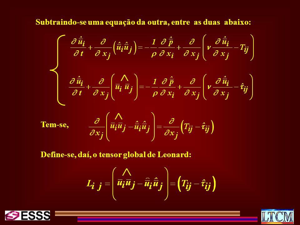 Subtraindo-se uma equação da outra, entre as duas abaixo: