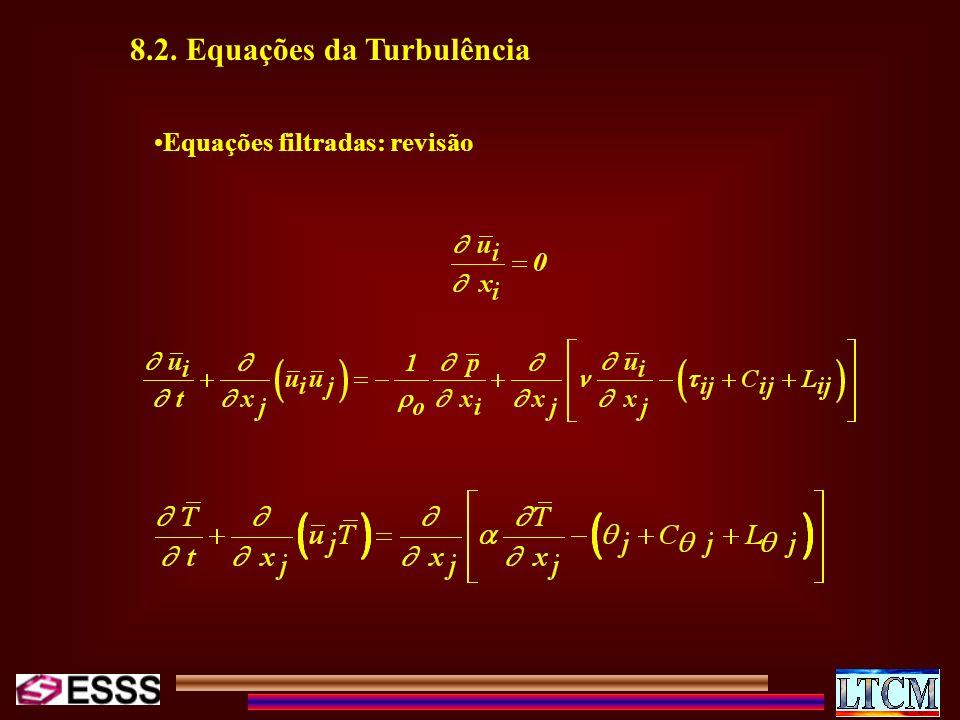 8.2. Equações da Turbulência