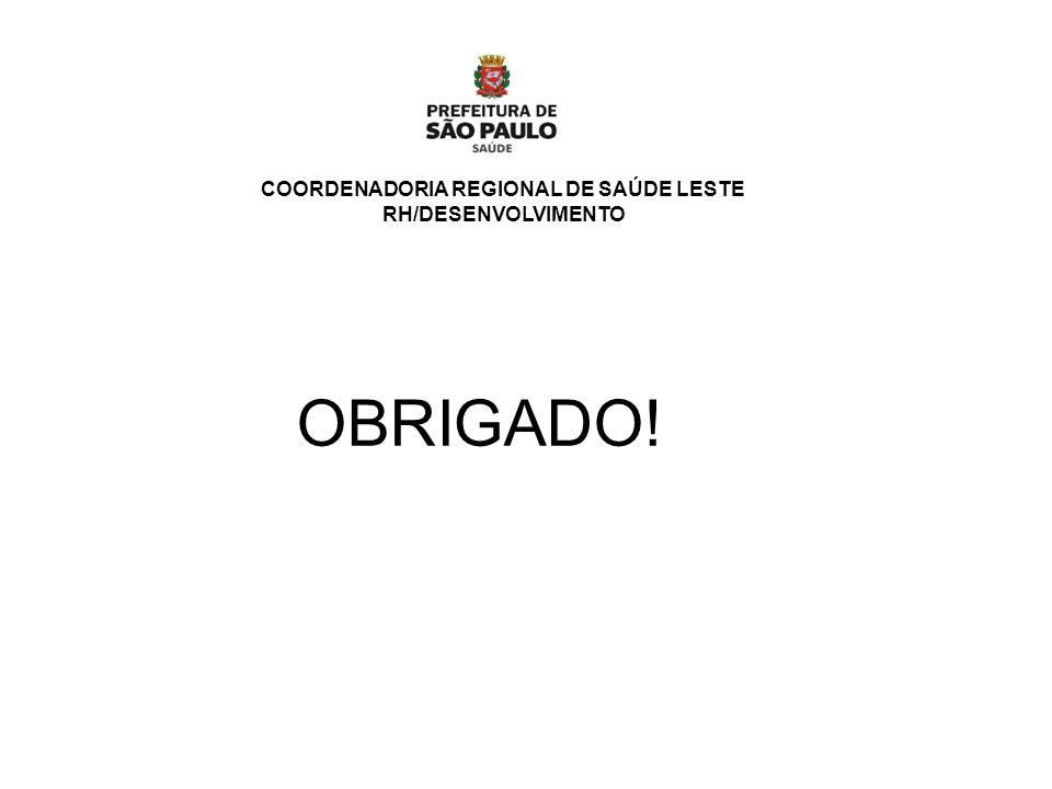 COORDENADORIA REGIONAL DE SAÚDE LESTE
