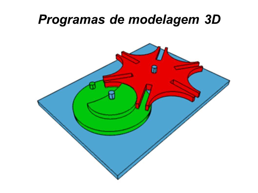 Programas de modelagem 3D