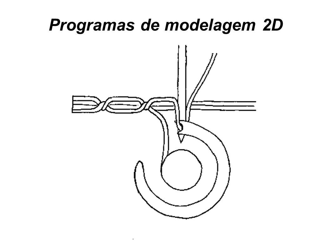Programas de modelagem 2D