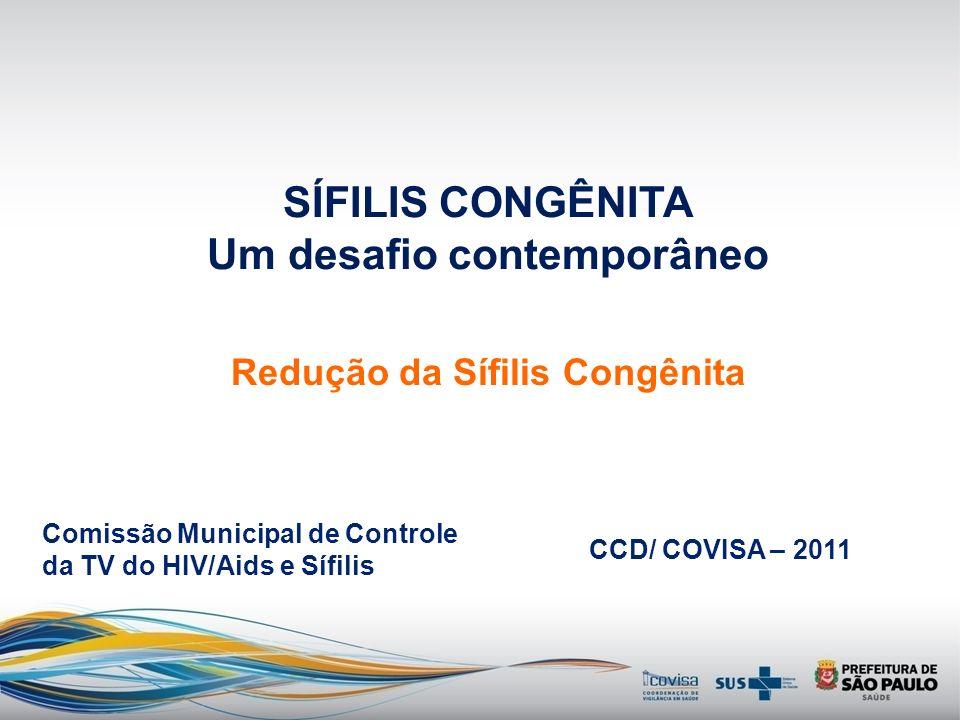 SÍFILIS CONGÊNITA Um desafio contemporâneo