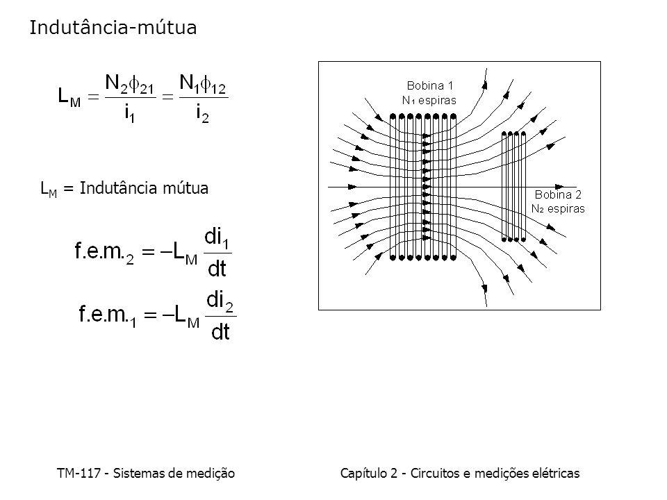 Indutância-mútua LM = Indutância mútua