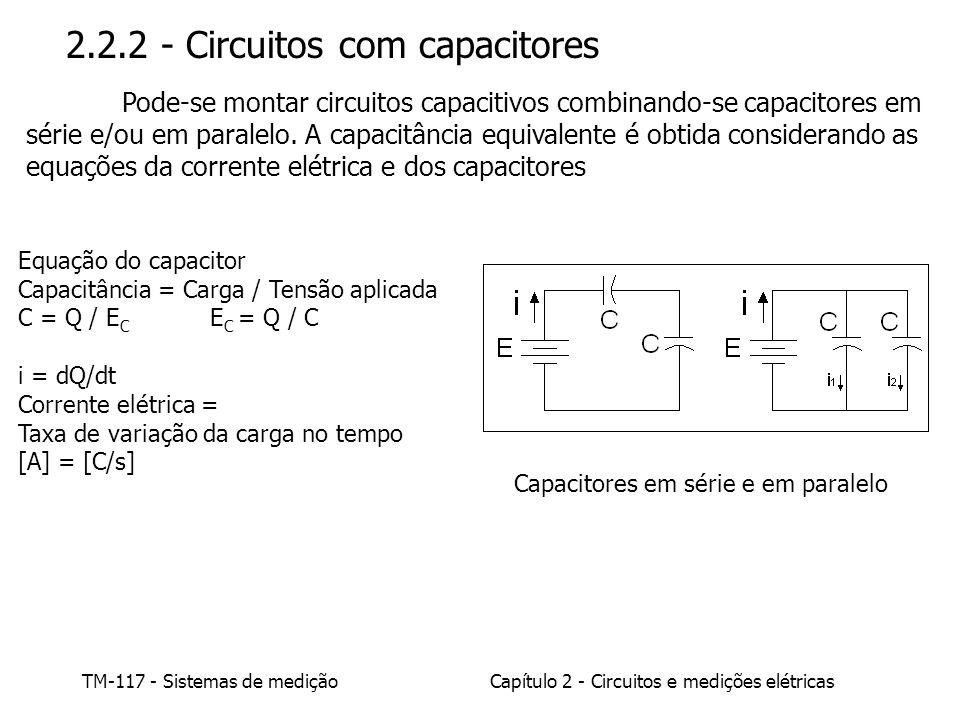 2.2.2 - Circuitos com capacitores