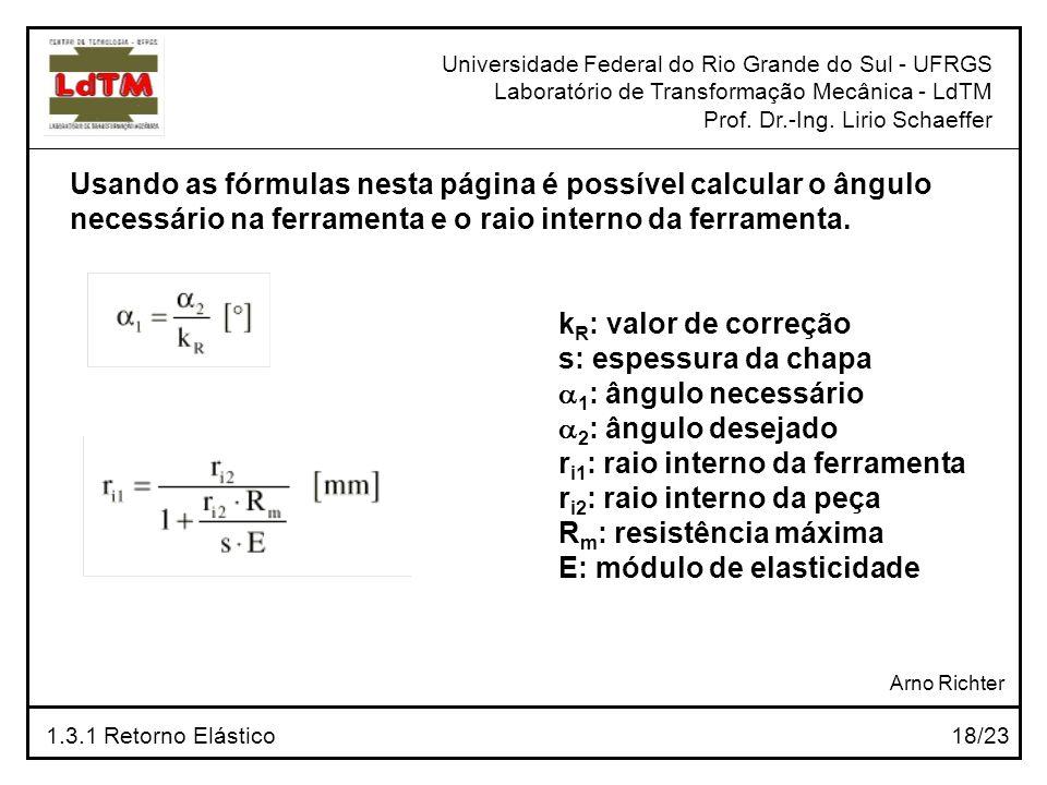 Usando as fórmulas nesta página é possível calcular o ângulo