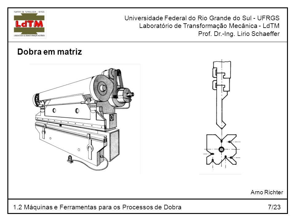 Dobra em matriz Universidade Federal do Rio Grande do Sul - UFRGS