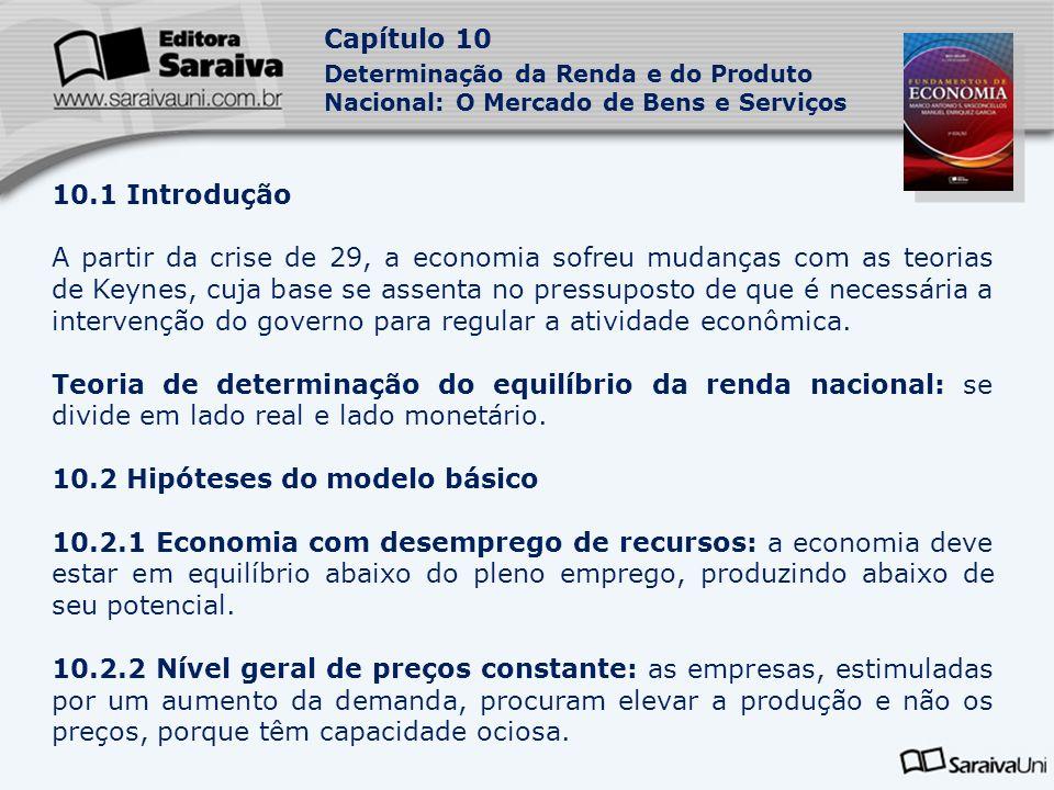 10.2 Hipóteses do modelo básico