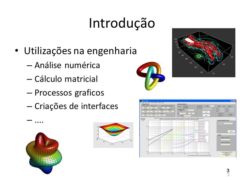 Introdução Utilizações na engenharia Análise numérica