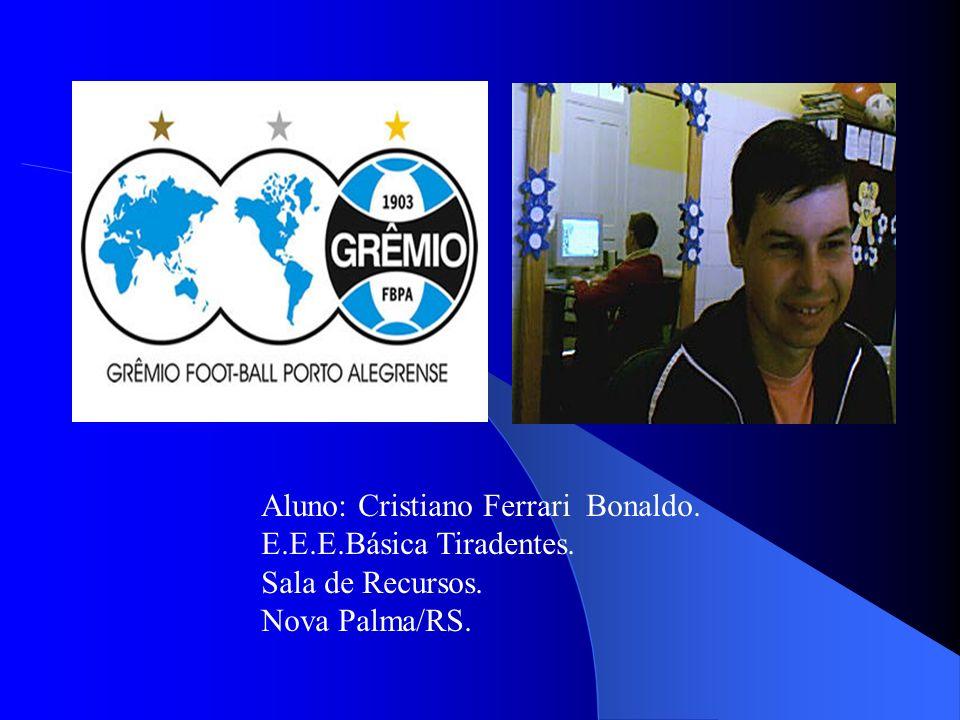 Aluno: Cristiano Ferrari Bonaldo.
