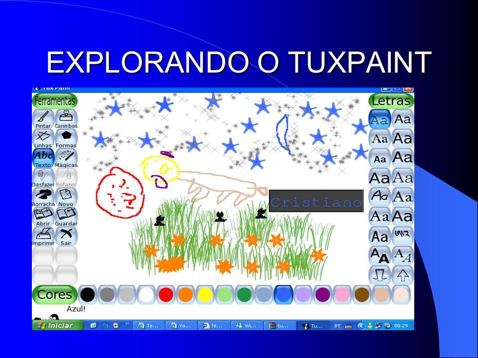 EXPLORANDO O TUXPAINT