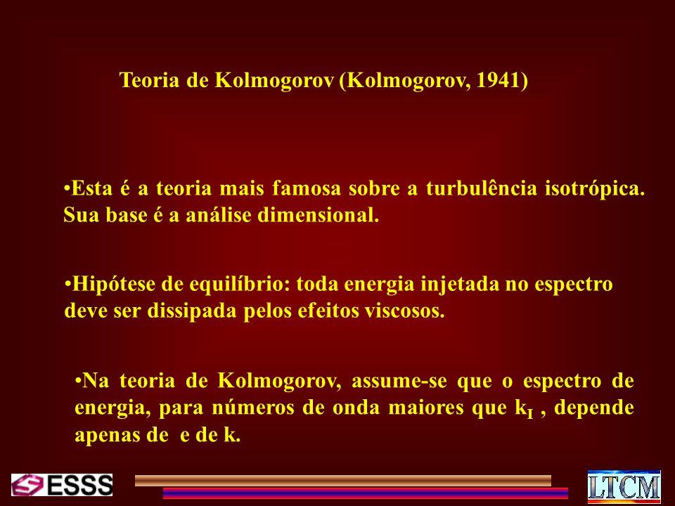 Teoria de Kolmogorov (Kolmogorov, 1941)
