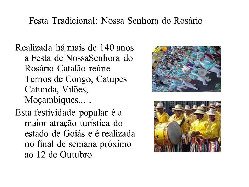 Festa Tradicional: Nossa Senhora do Rosário