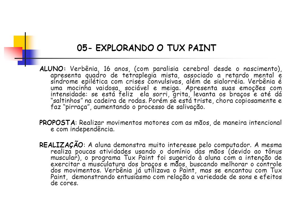 05- EXPLORANDO O TUX PAINT