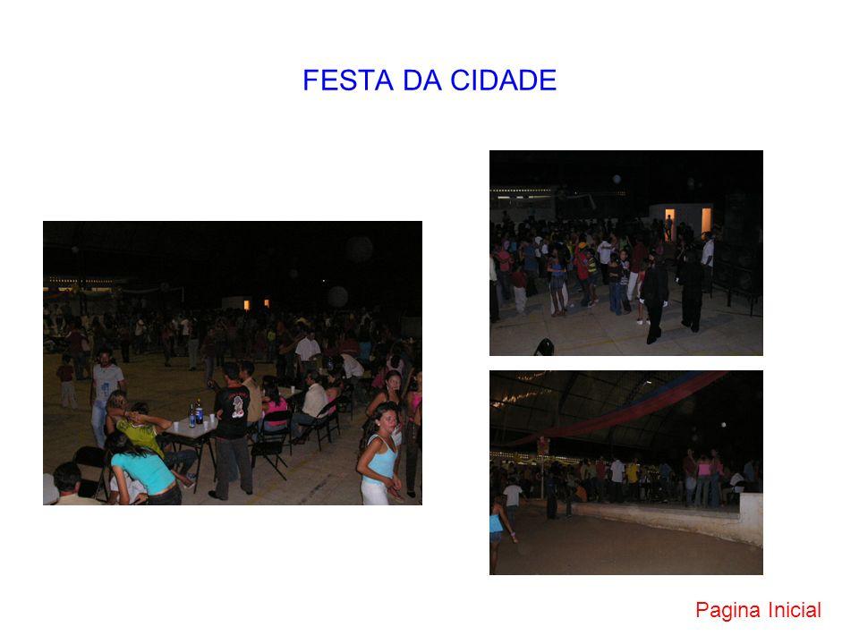 FESTA DA CIDADE Pagina Inicial