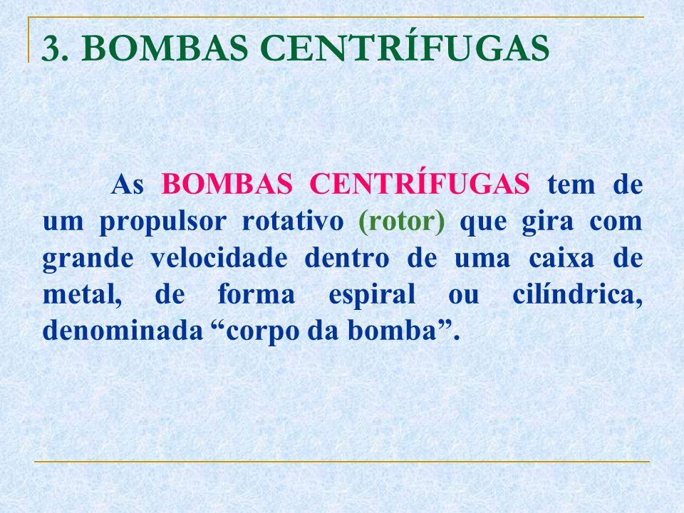 3. BOMBAS CENTRÍFUGAS