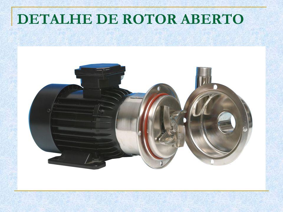 DETALHE DE ROTOR ABERTO