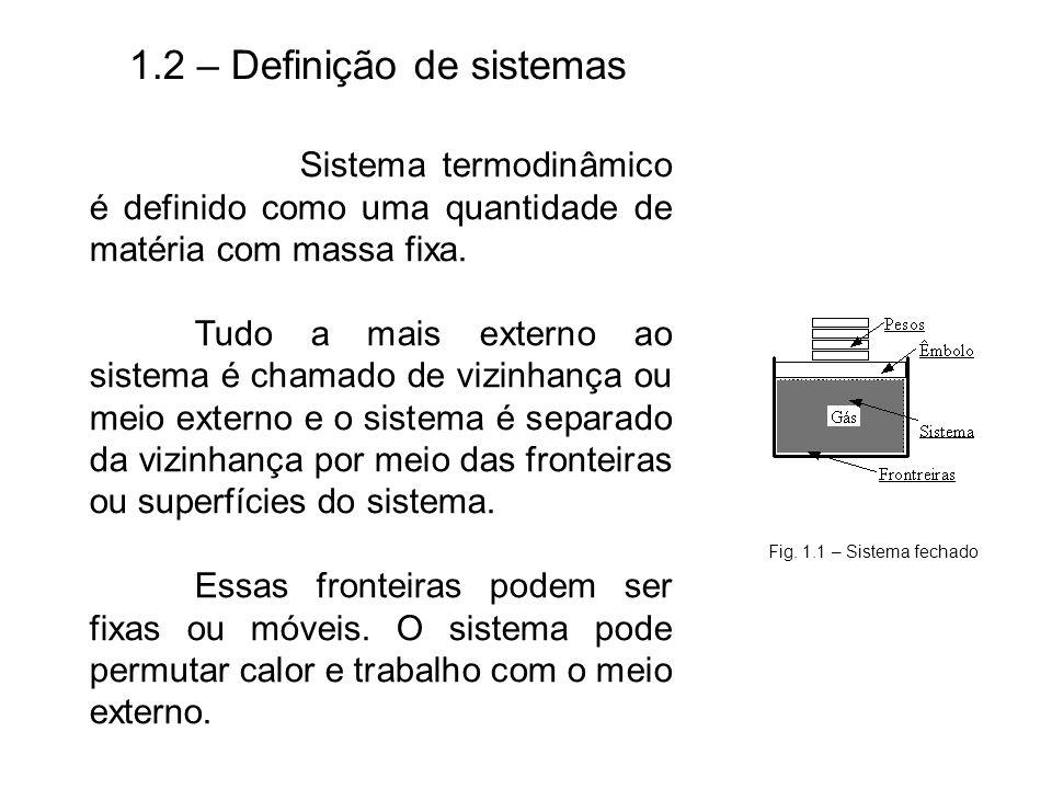 1.2 – Definição de sistemas
