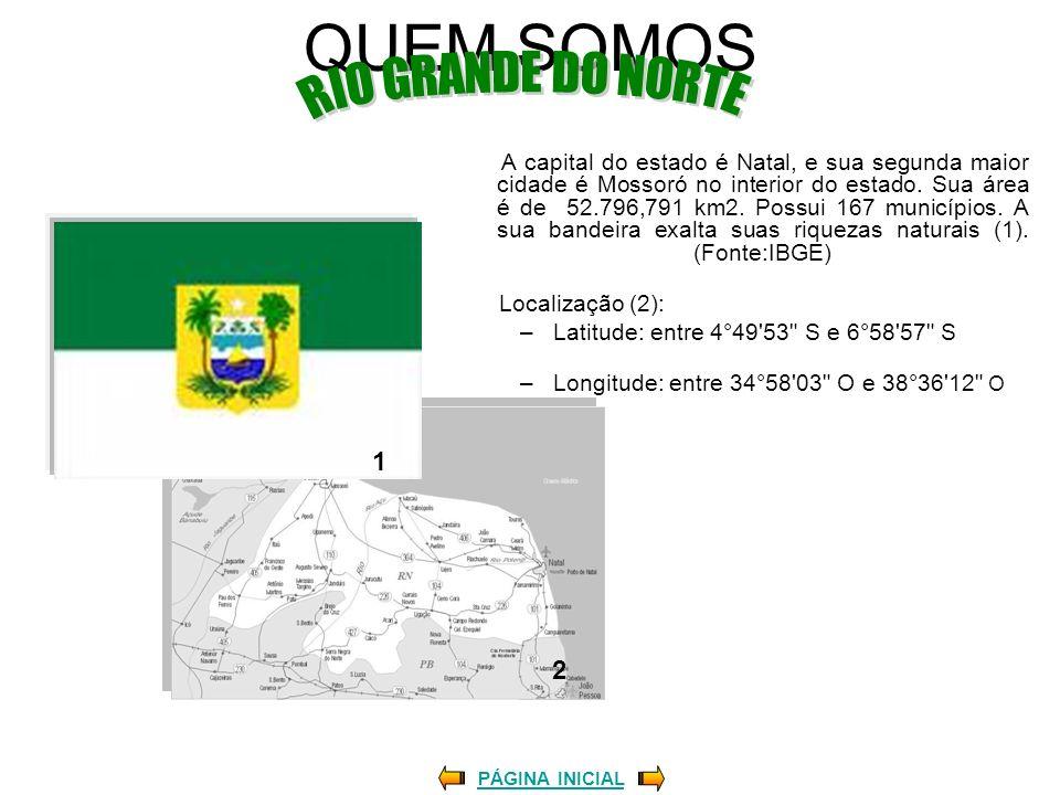 QUEM SOMOS RIO GRANDE DO NORTE 1 2 Localização (2):