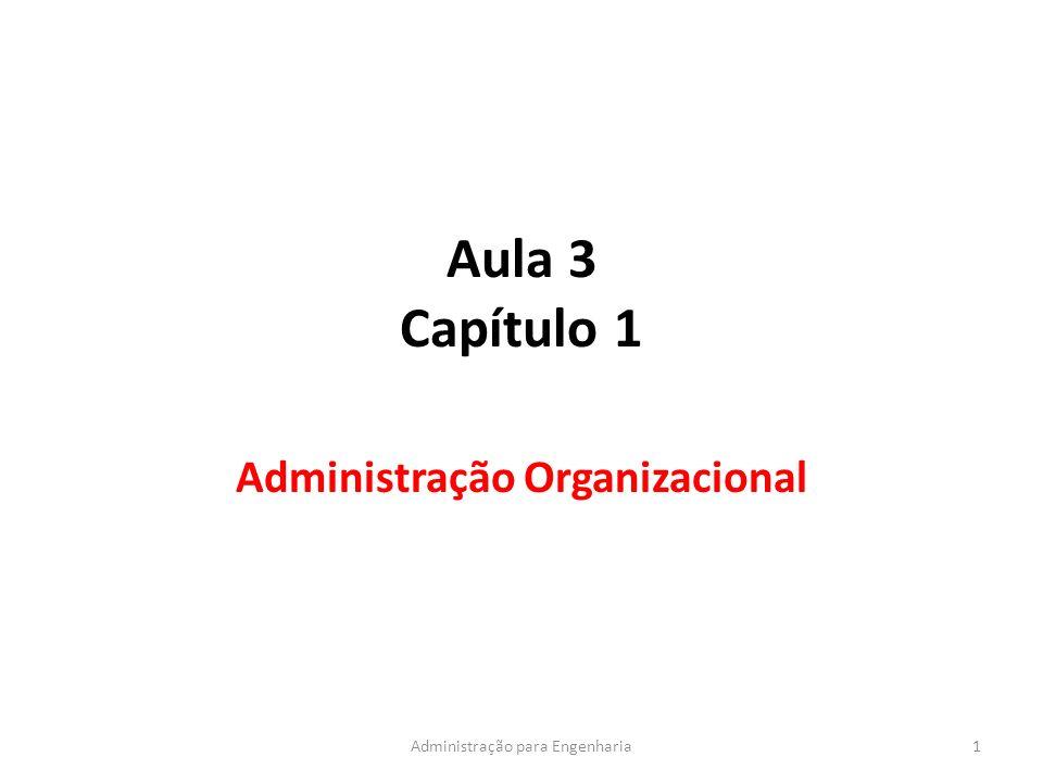 Administração Organizacional