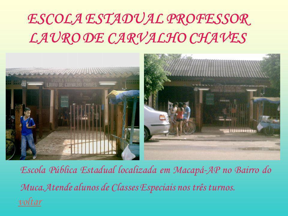 ESCOLA ESTADUAL PROFESSOR LAURO DE CARVALHO CHAVES