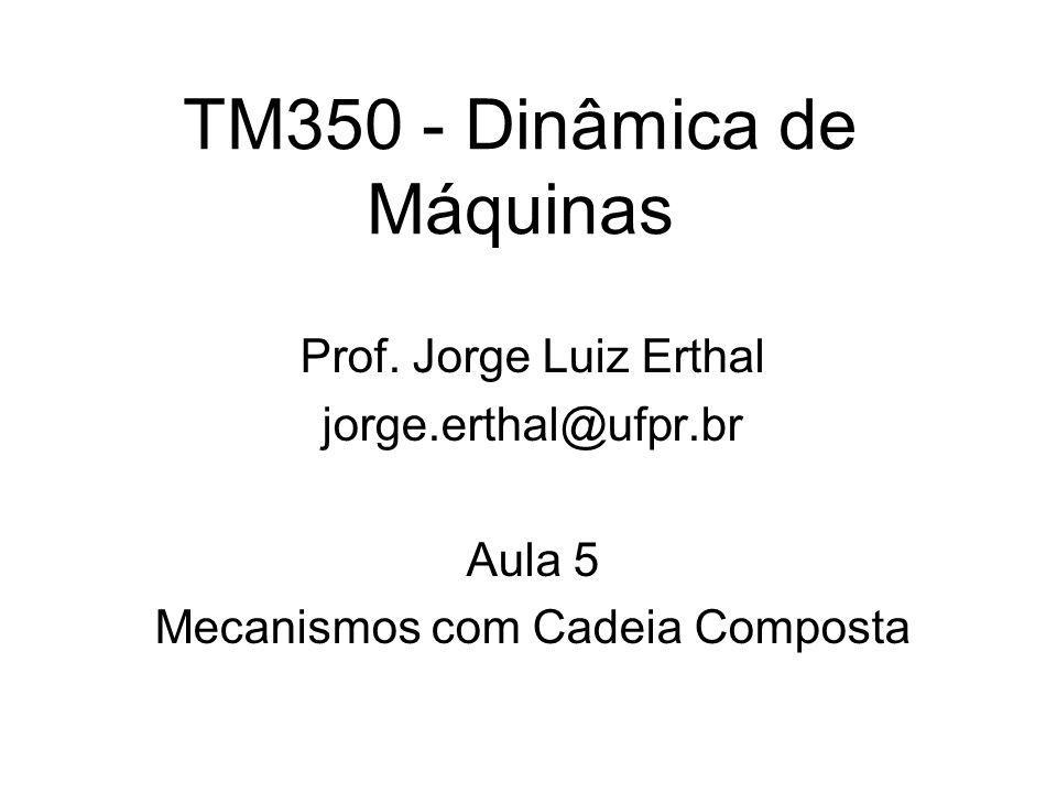 TM350 - Dinâmica de Máquinas