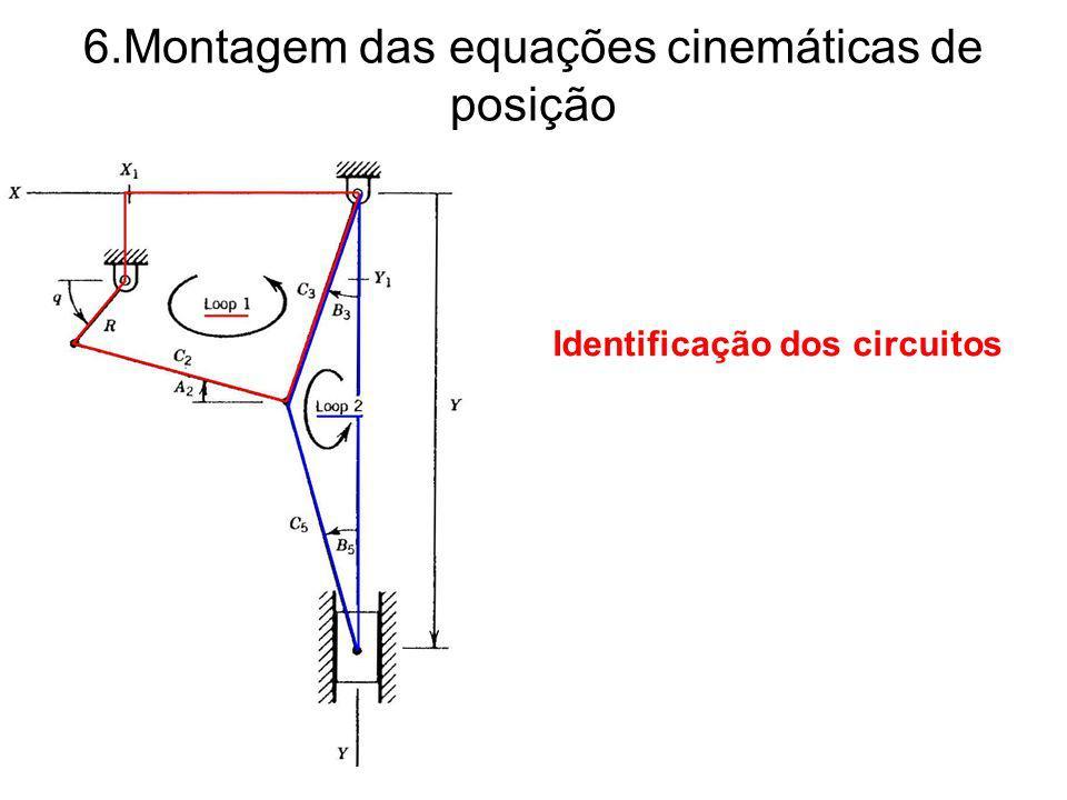 6.Montagem das equações cinemáticas de posição