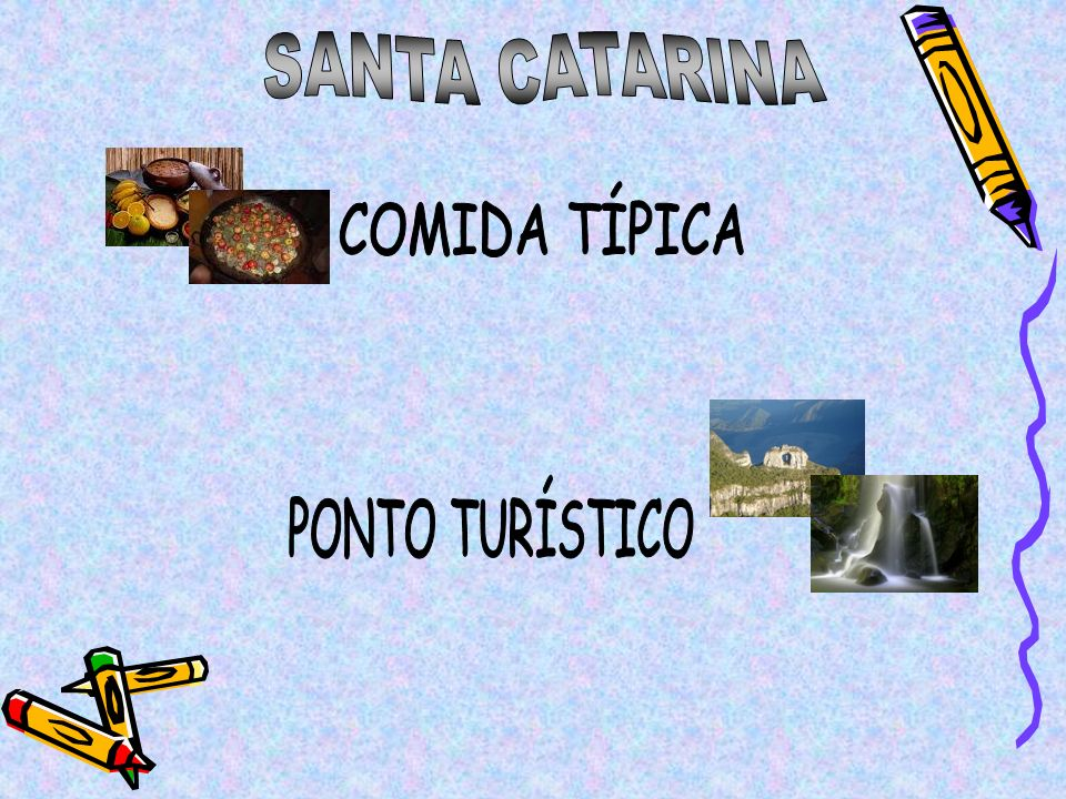 SANTA CATARINA COMIDA TÍPICA PONTO TURÍSTICO