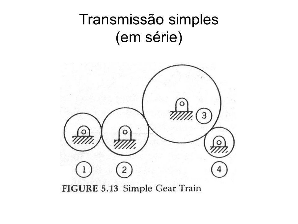 Transmissão simples (em série)