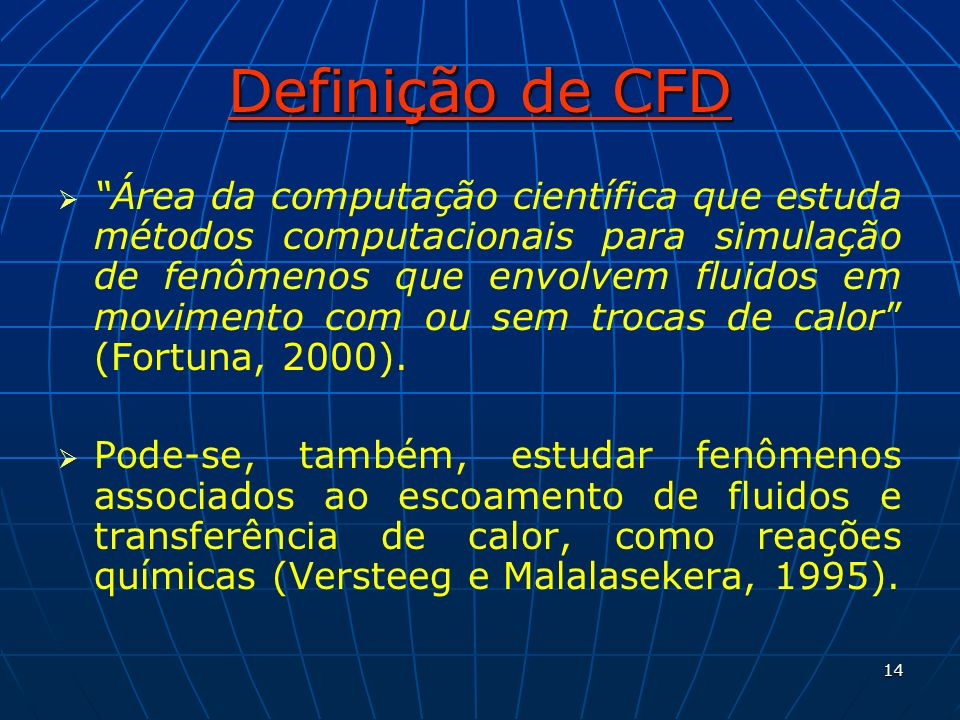 Definição de CFD