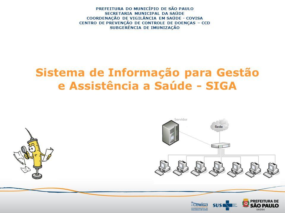 Sistema de Informação para Gestão e Assistência a Saúde - SIGA
