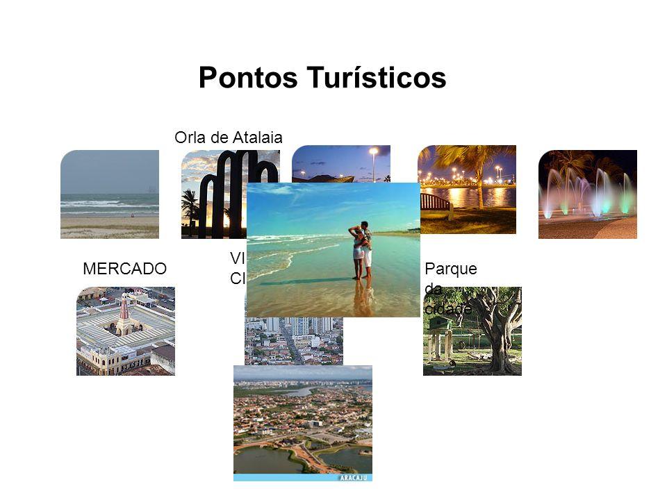 Pontos Turísticos Orla de Atalaia VISTA ÁEREA DA CIDADE MERCADO