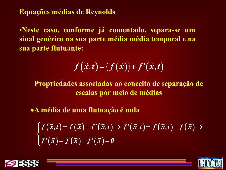 Equações médias de Reynolds