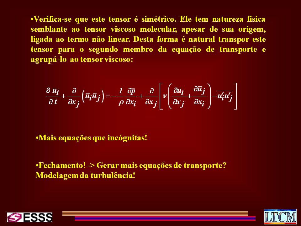 Verifica-se que este tensor é simétrico