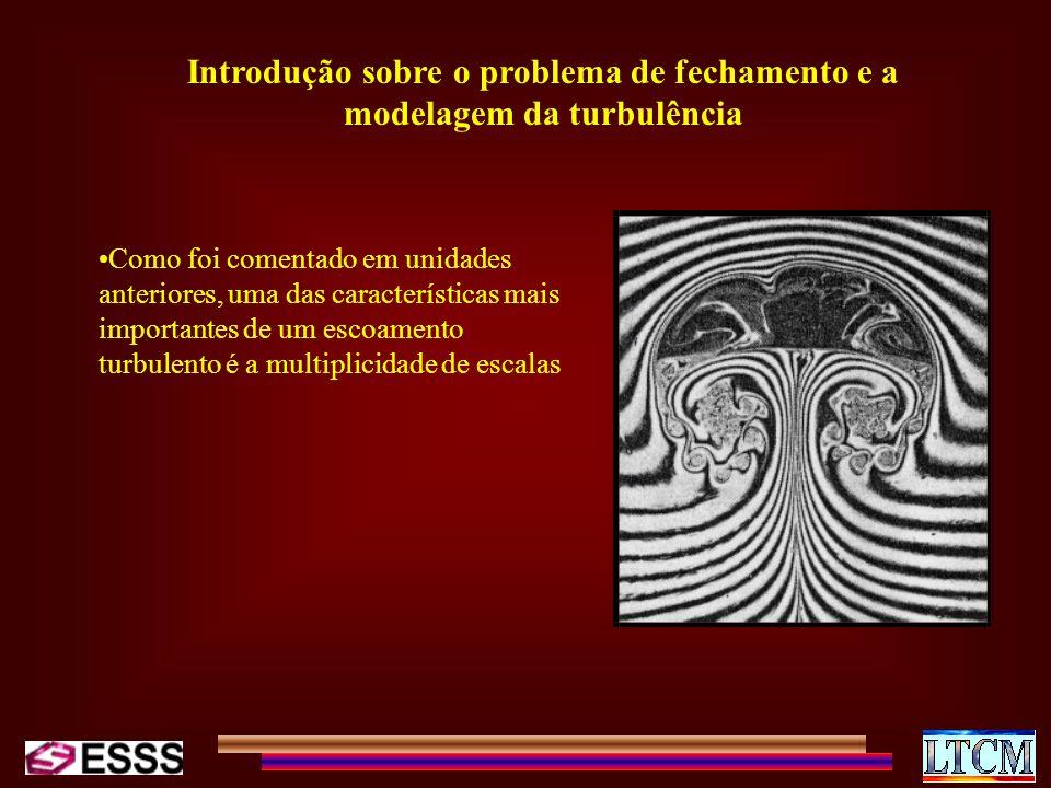 Introdução sobre o problema de fechamento e a modelagem da turbulência