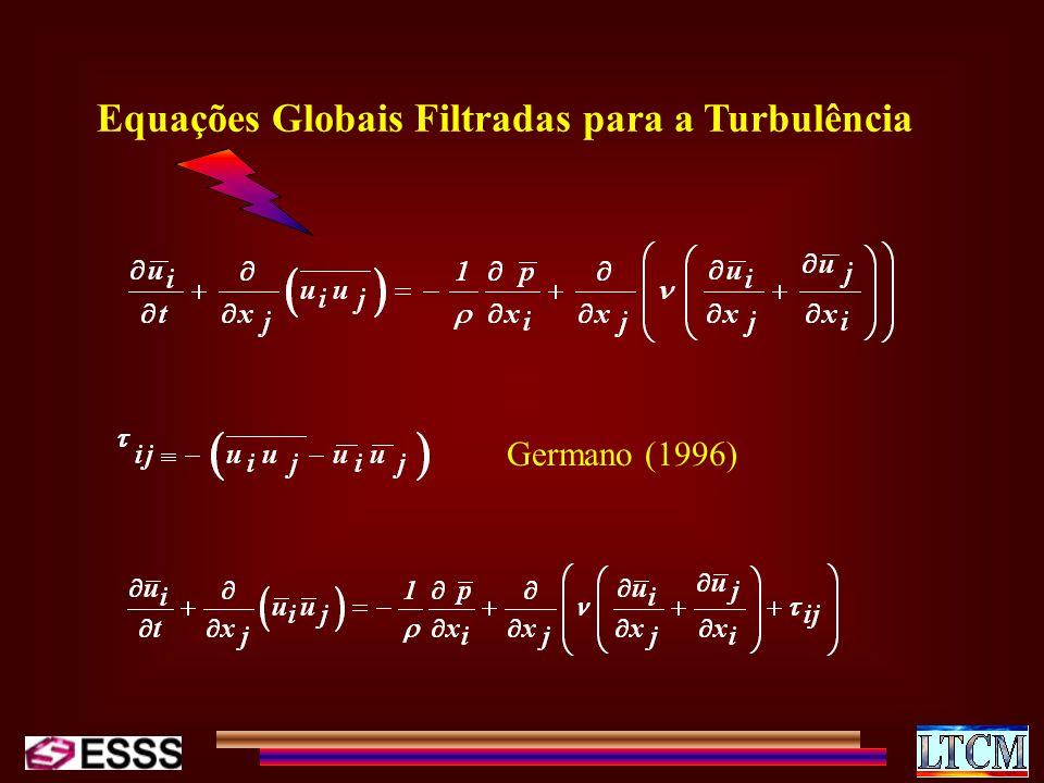 Equações Globais Filtradas para a Turbulência