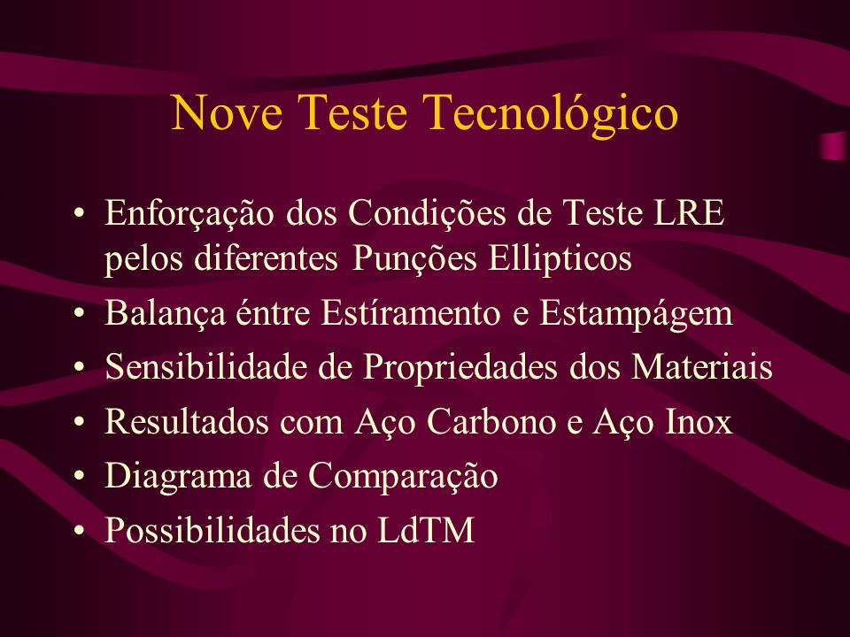 Nove Teste Tecnológico