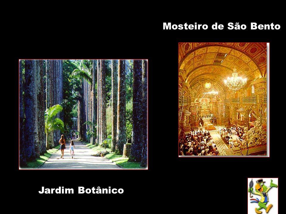 Mosteiro de São Bento Jardim Botânico
