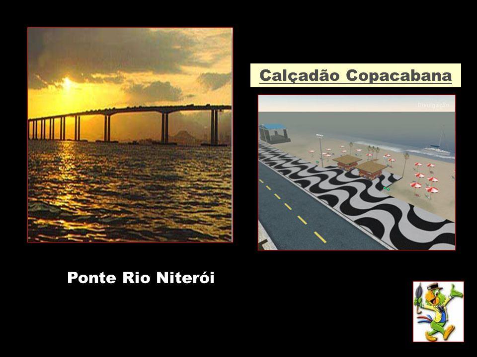 Calçadão Copacabana Ponte Rio Niterói
