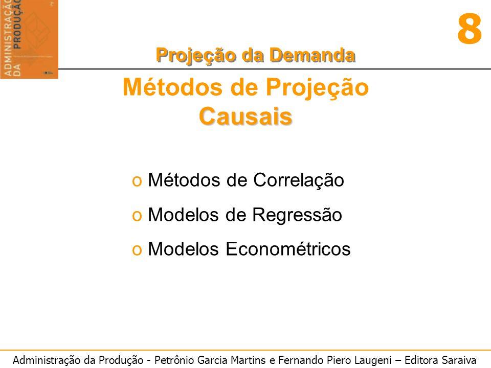 Métodos de Projeção Causais