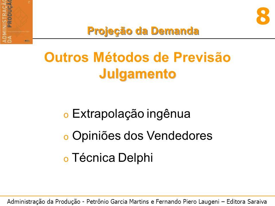 Outros Métodos de Previsão Julgamento