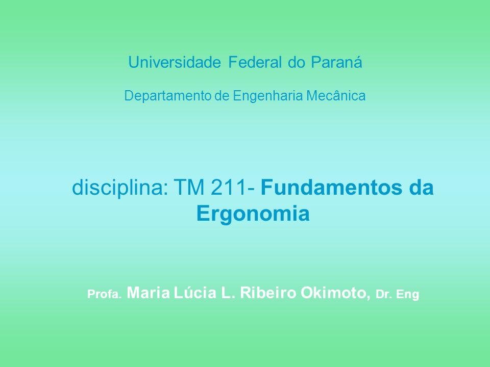 Universidade Federal do Paraná Departamento de Engenharia Mecânica
