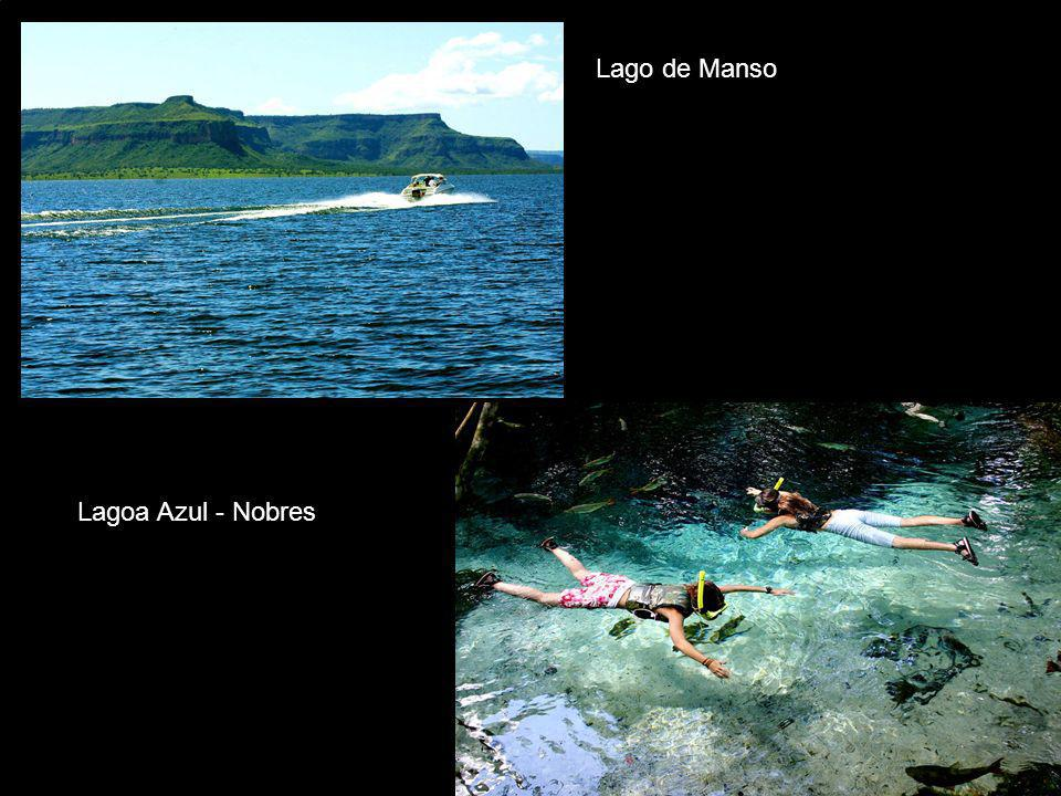 Lago de Manso Lagoa Azul - Nobres