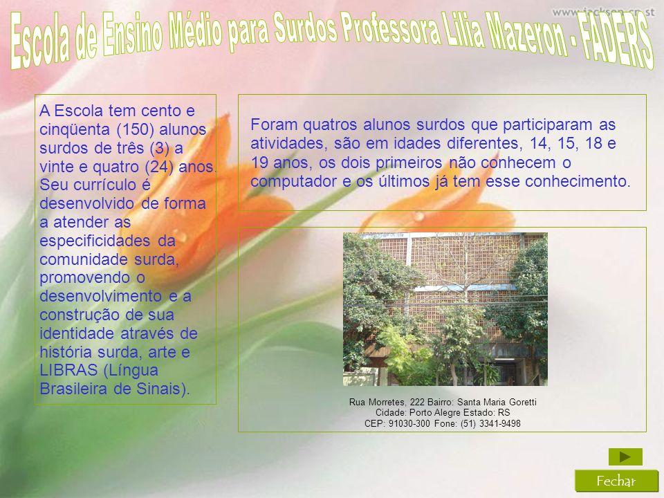 Escola de Ensino Médio para Surdos Professora Lilia Mazeron - FADERS