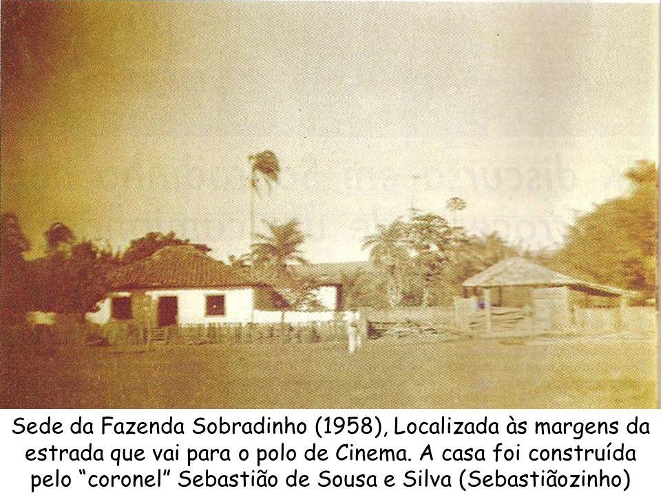 Sede da Fazenda Sobradinho (1958), Localizada às margens da estrada que vai para o polo de Cinema.