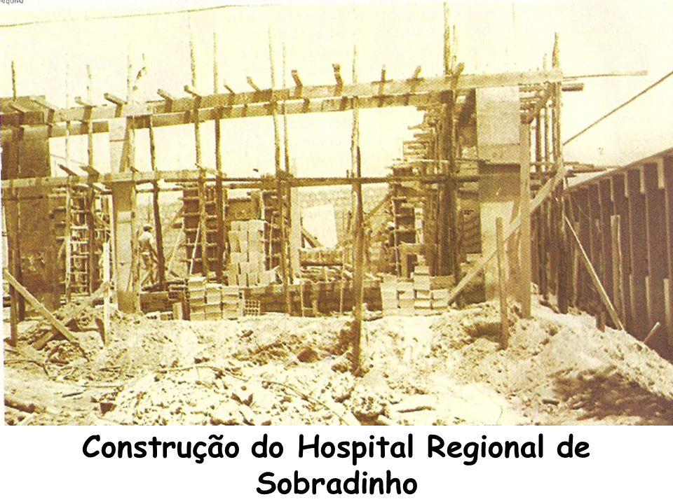 Construção do Hospital Regional de Sobradinho