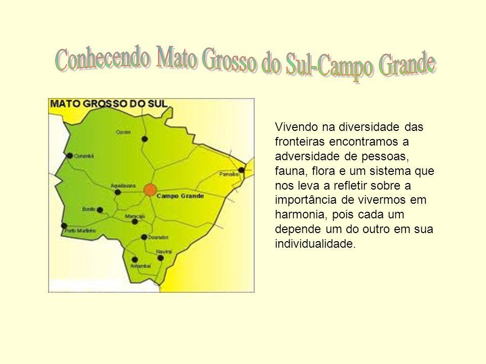 Conhecendo Mato Grosso do Sul-Campo Grande